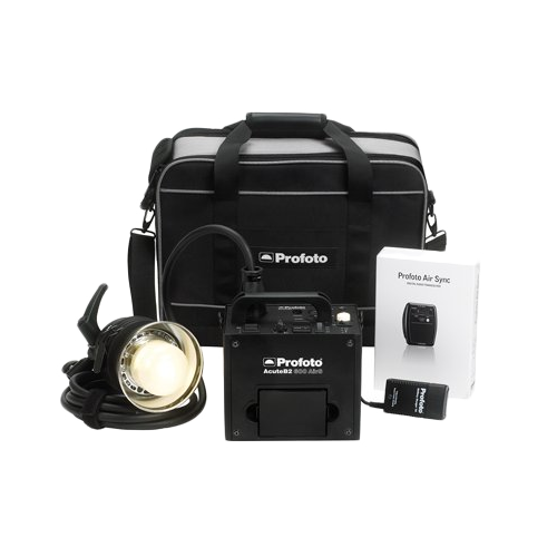 Studio Lighting Rental: Profoto AcuteB2 Air Life Kit